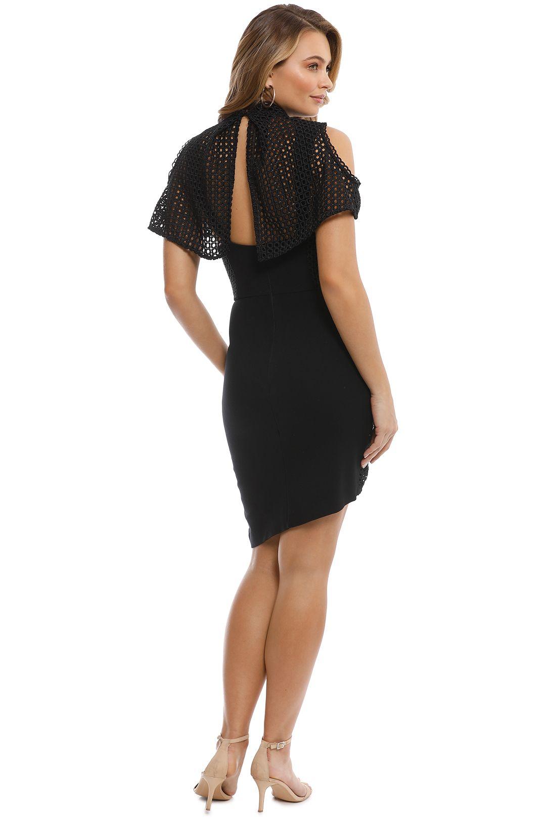 Elliatt - Freesia Dress - Black - Back