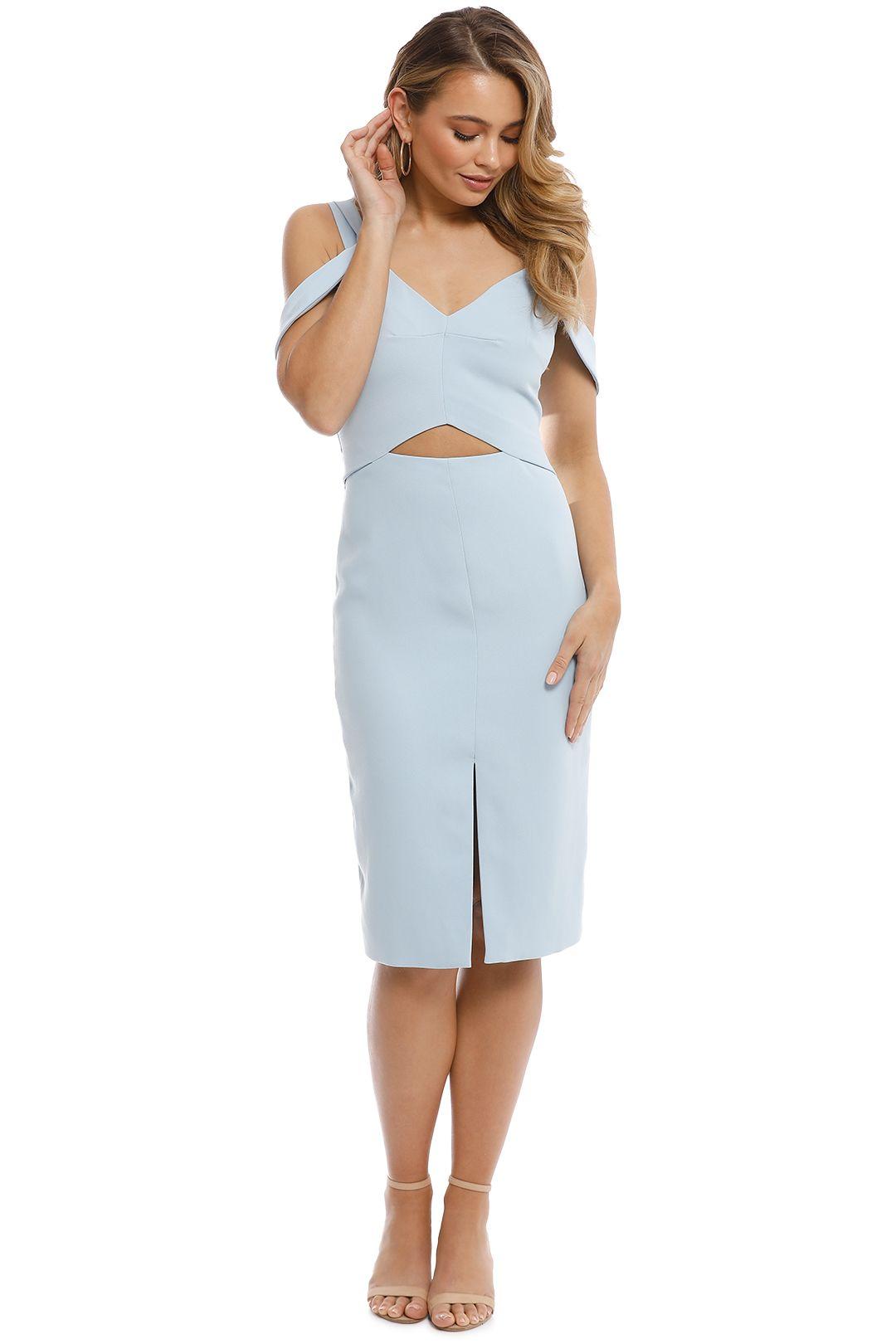 Elliatt - Liberty Dress - Blue - Front