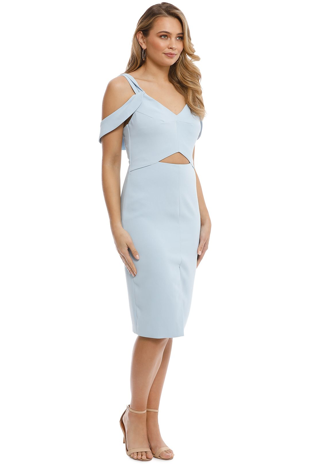 Elliatt - Liberty Dress - Blue - Side