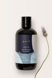 Ena-Body-Oil-Rose-Geranium-and-Lavender-Product