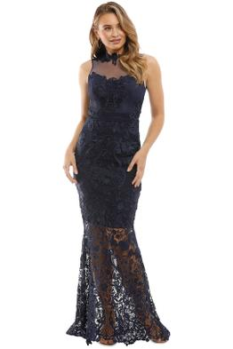 Grace & Hart - Breathless Love Gown - Navy - Front