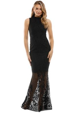 Grace and Hart - Ignite Passion Gown - Black - Front