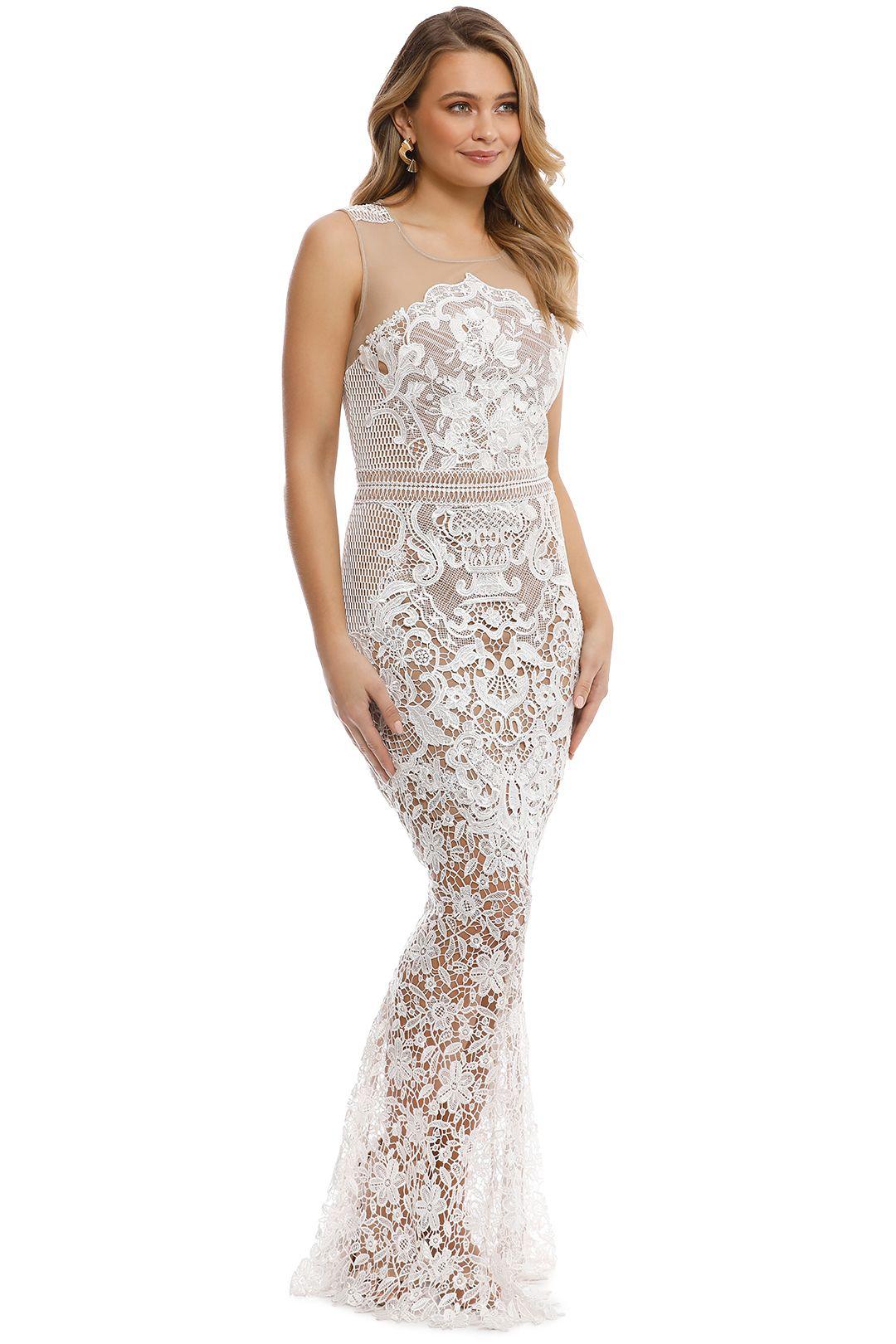 Grace & Hart - Renaissance Gown - White - Side
