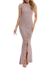 Grace and Hart - Valentine Gown - Mushroom - Front