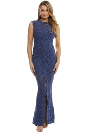 Grace and Hart - Valentine Gown - Navy - Front
