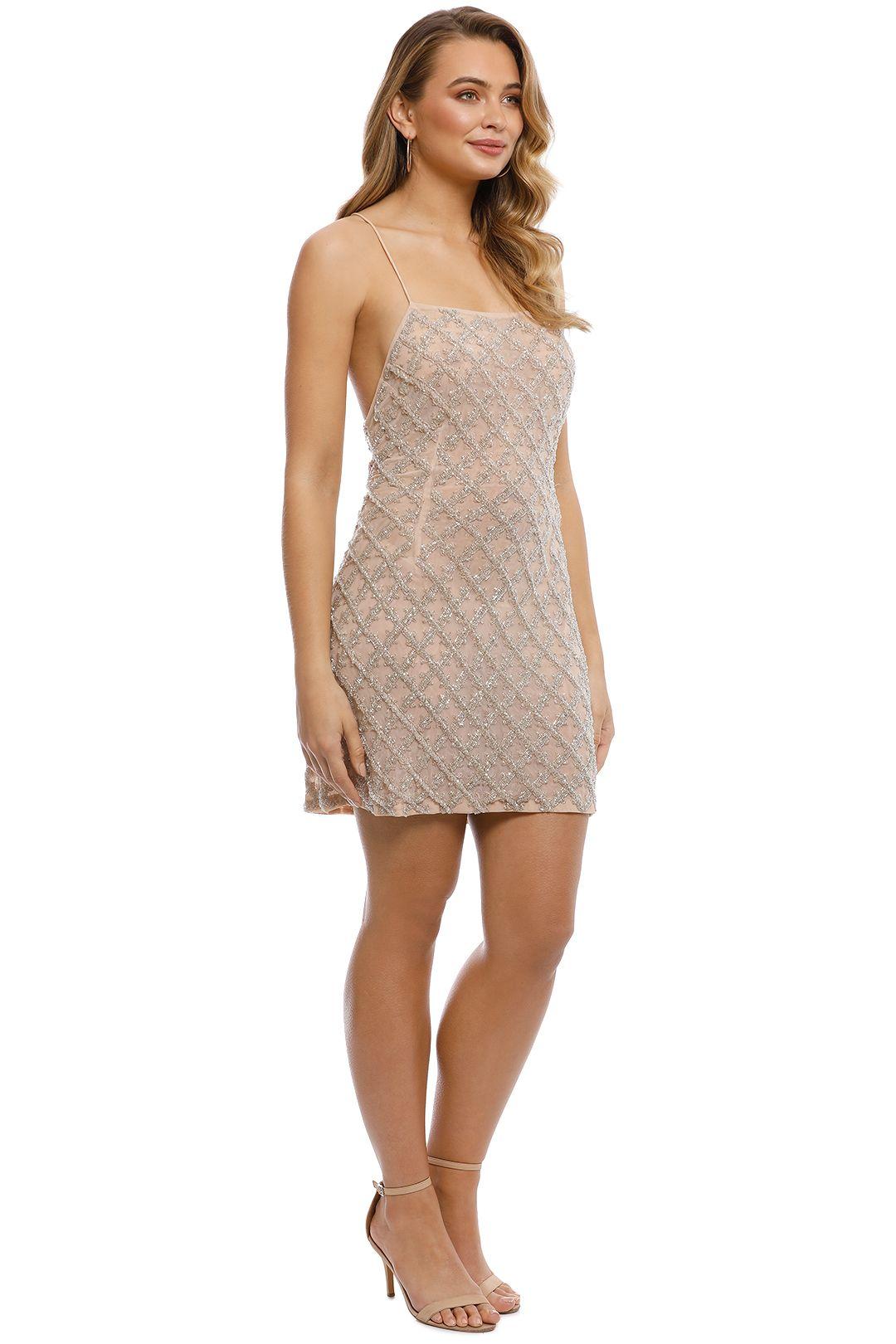 Madame X - Eima Dress - Nude - side