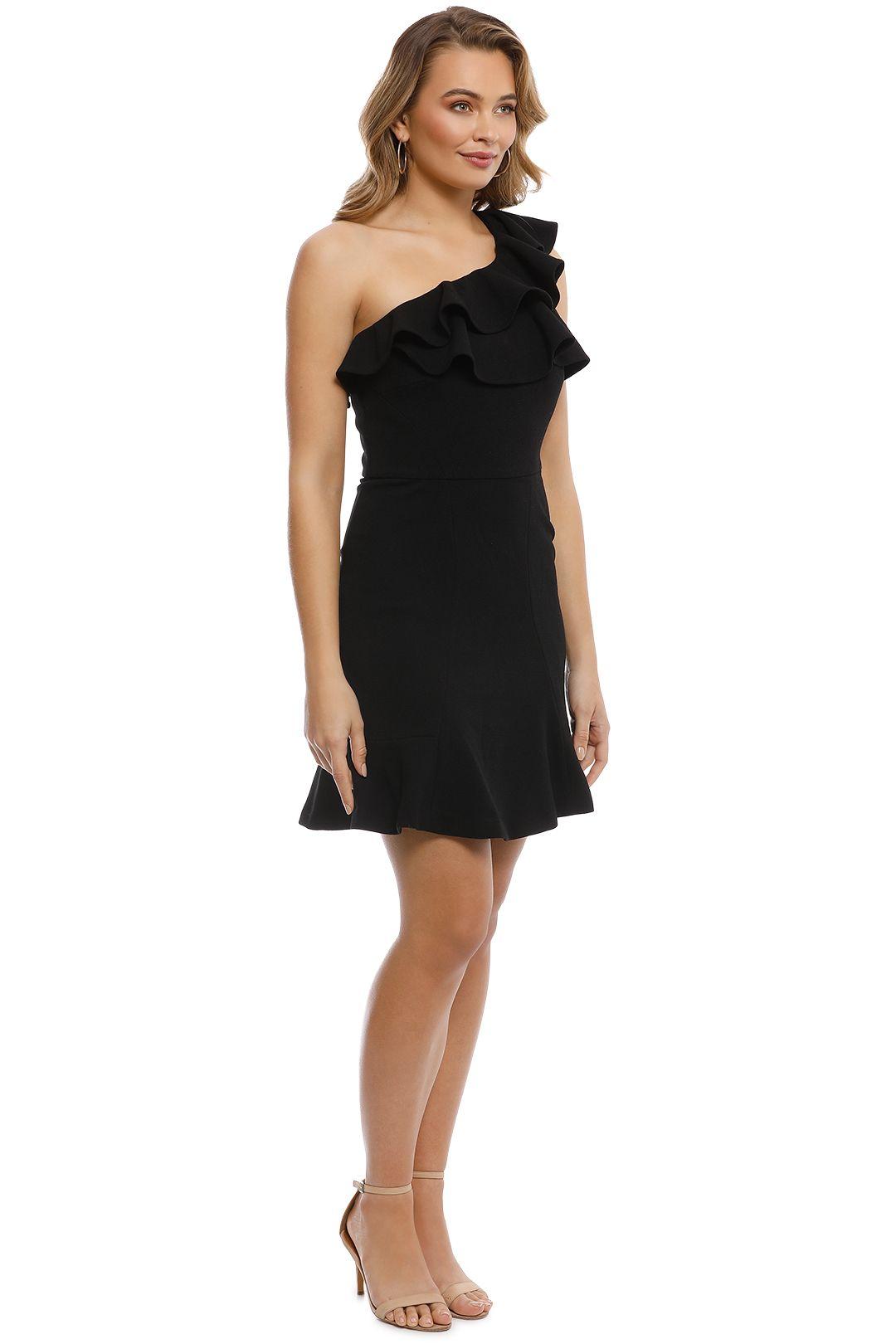 Rebecca Vallance - Paparazzi Drape Long Sleeve Dress - Side