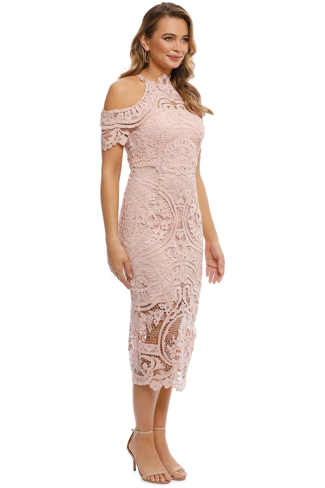 Thurley - Bouquet Dress - Nude - Side