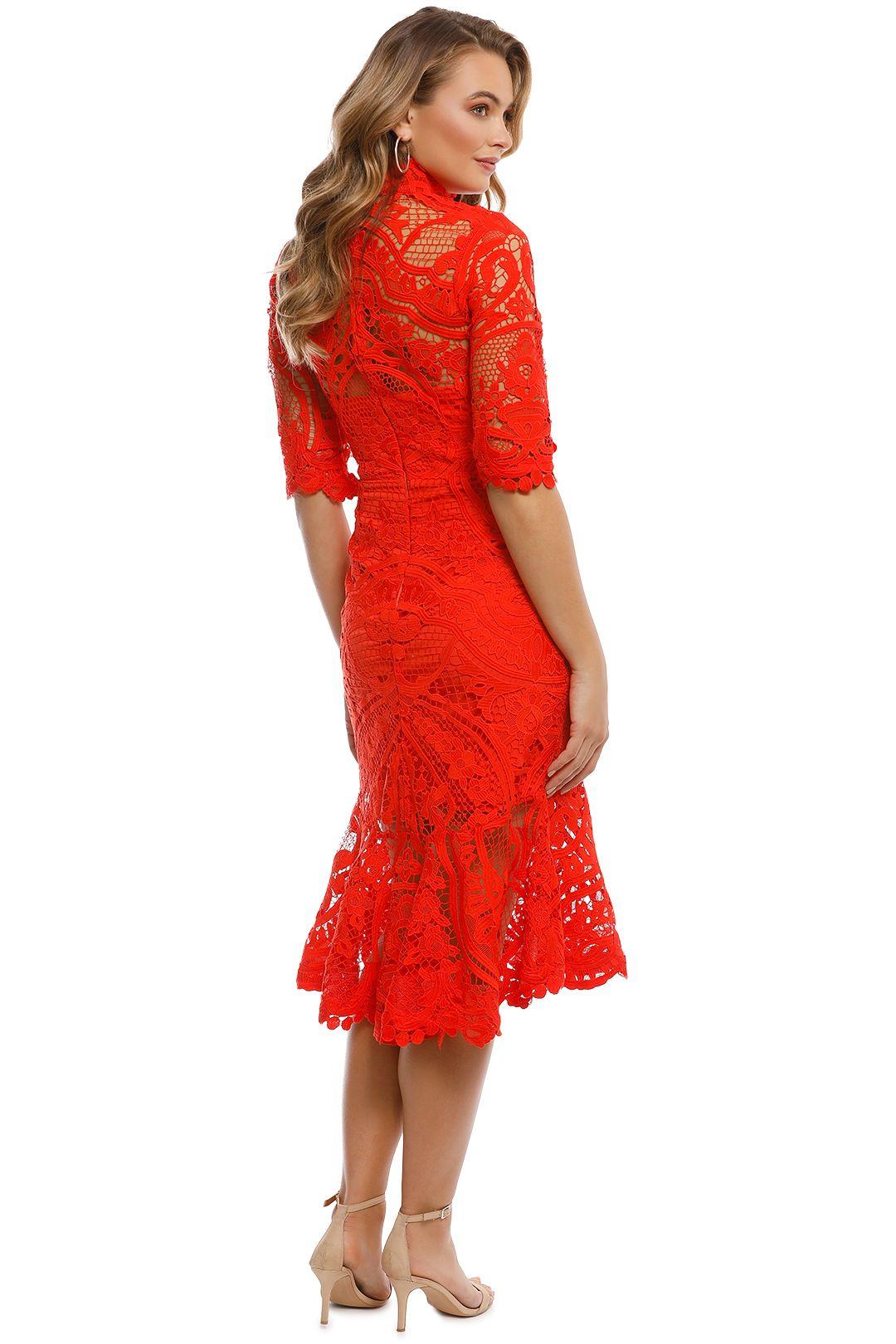 Thurley - Eternity Dress - Madarin - Back