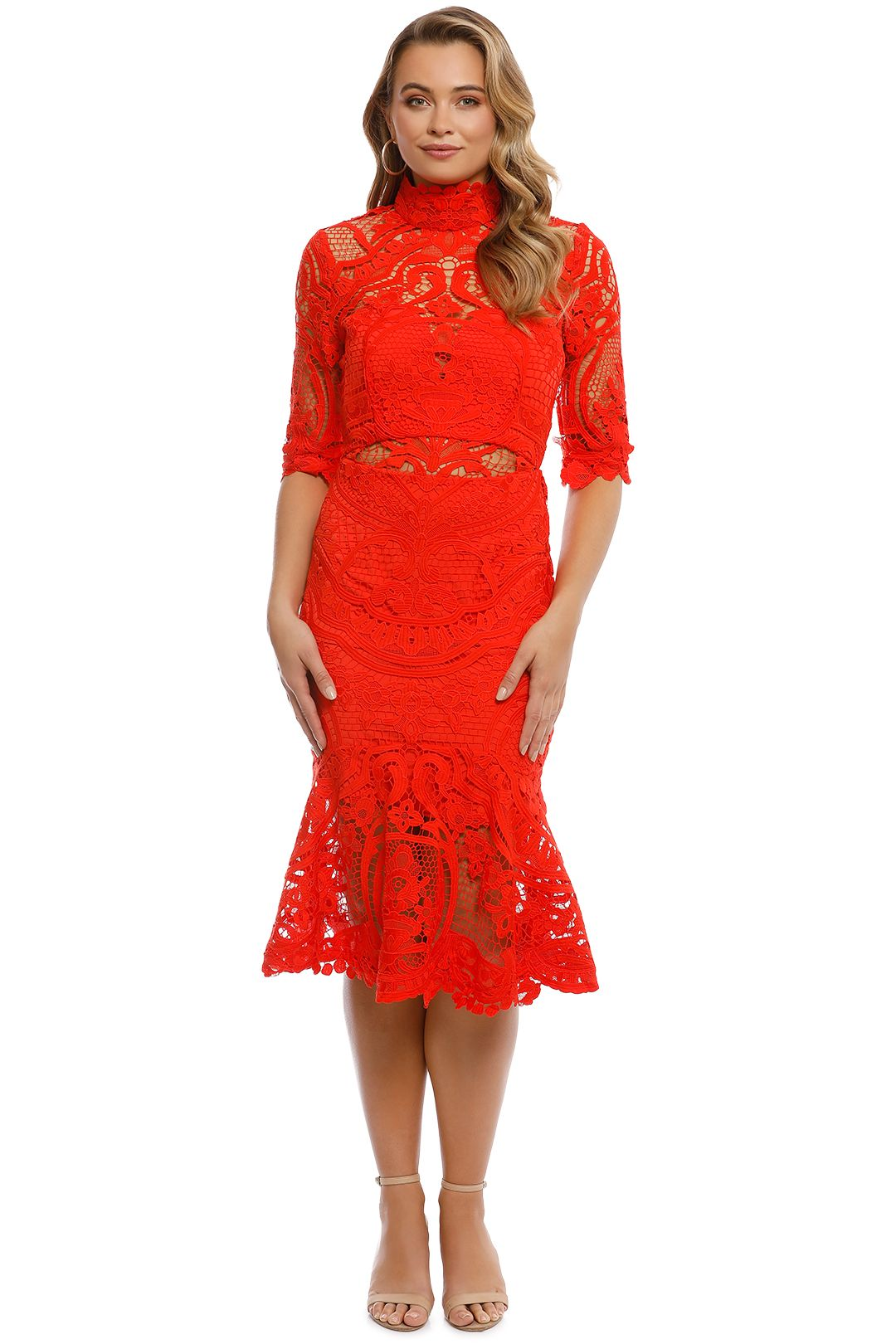 Thurley - Eternity Dress - Madarin - Front