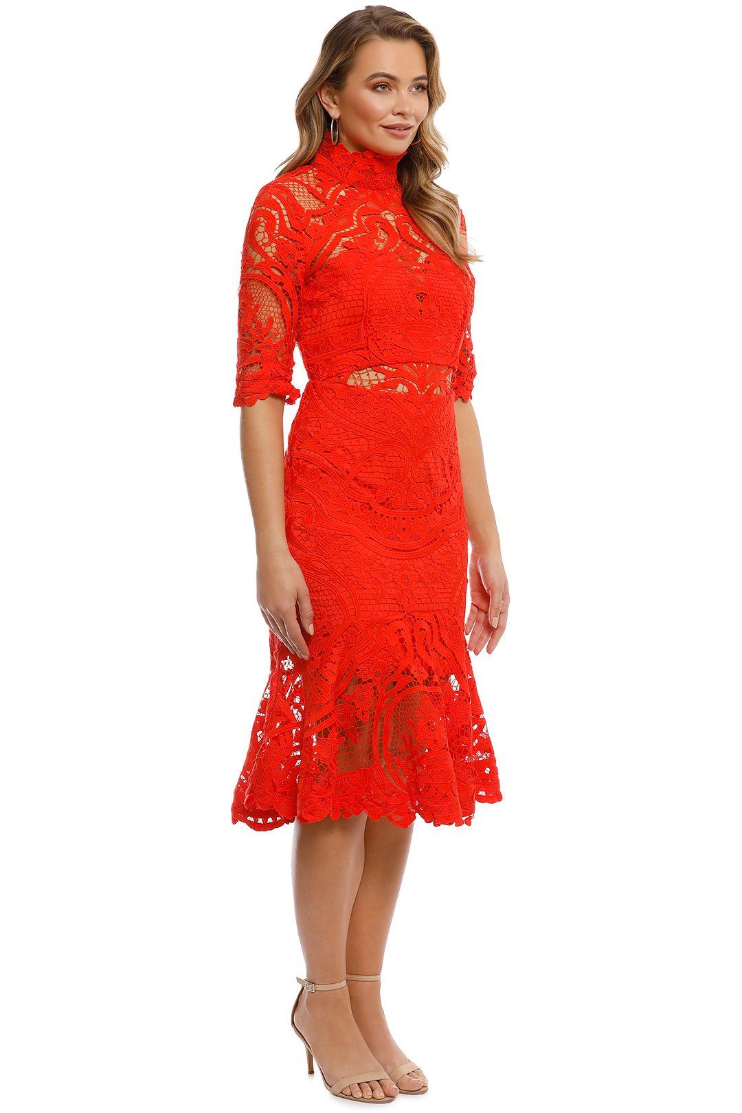 Thurley - Eternity Dress - Madarin - Side