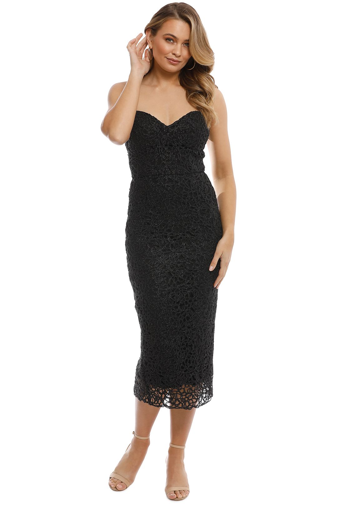 Unspoken - Stargaze Dress - Black - Front