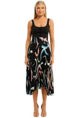 A.L.C-Sonali-Skirt-Midnight-Multi-Front