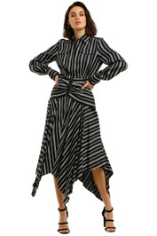 Acler-Cresler-Dress-Navy-Stripe-Front
