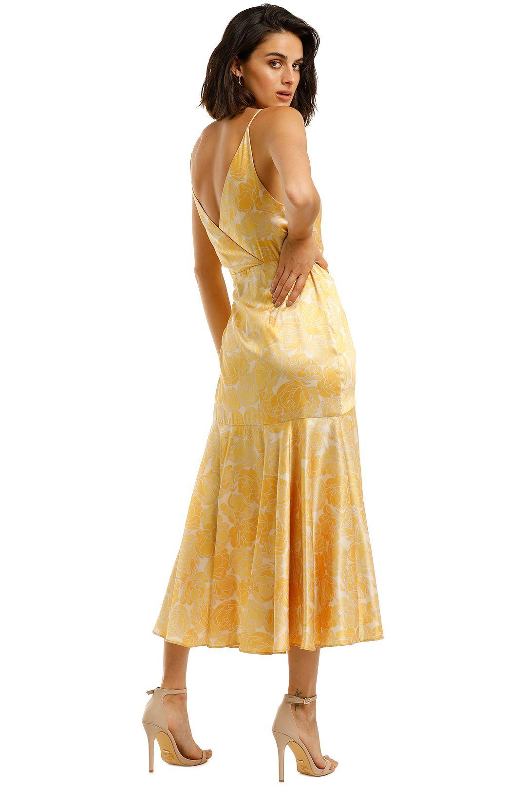 Acler-Dana-Wrap-Dress-Lemon-Back