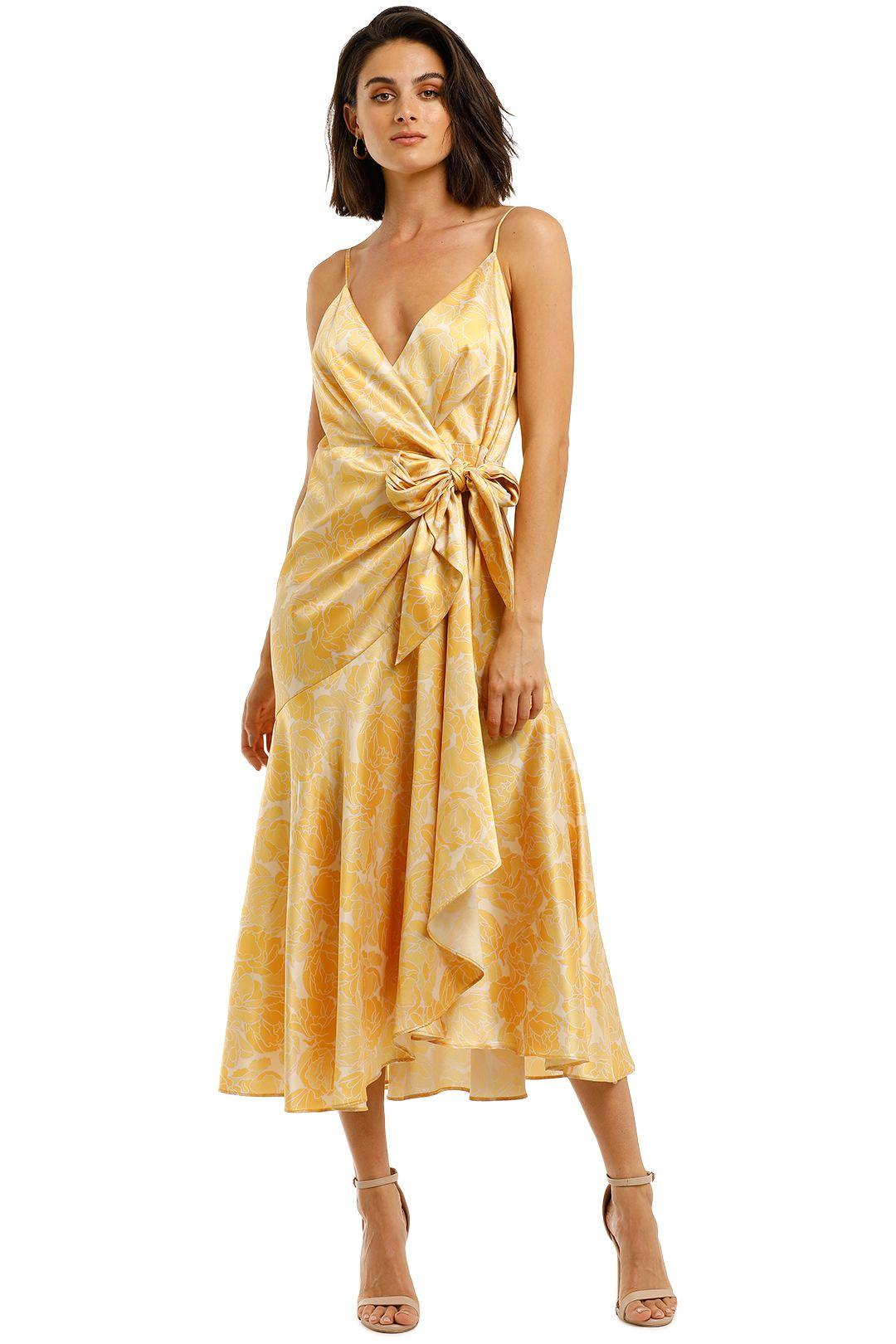 Acler-Dana-Wrap-Dress-Lemon-Front