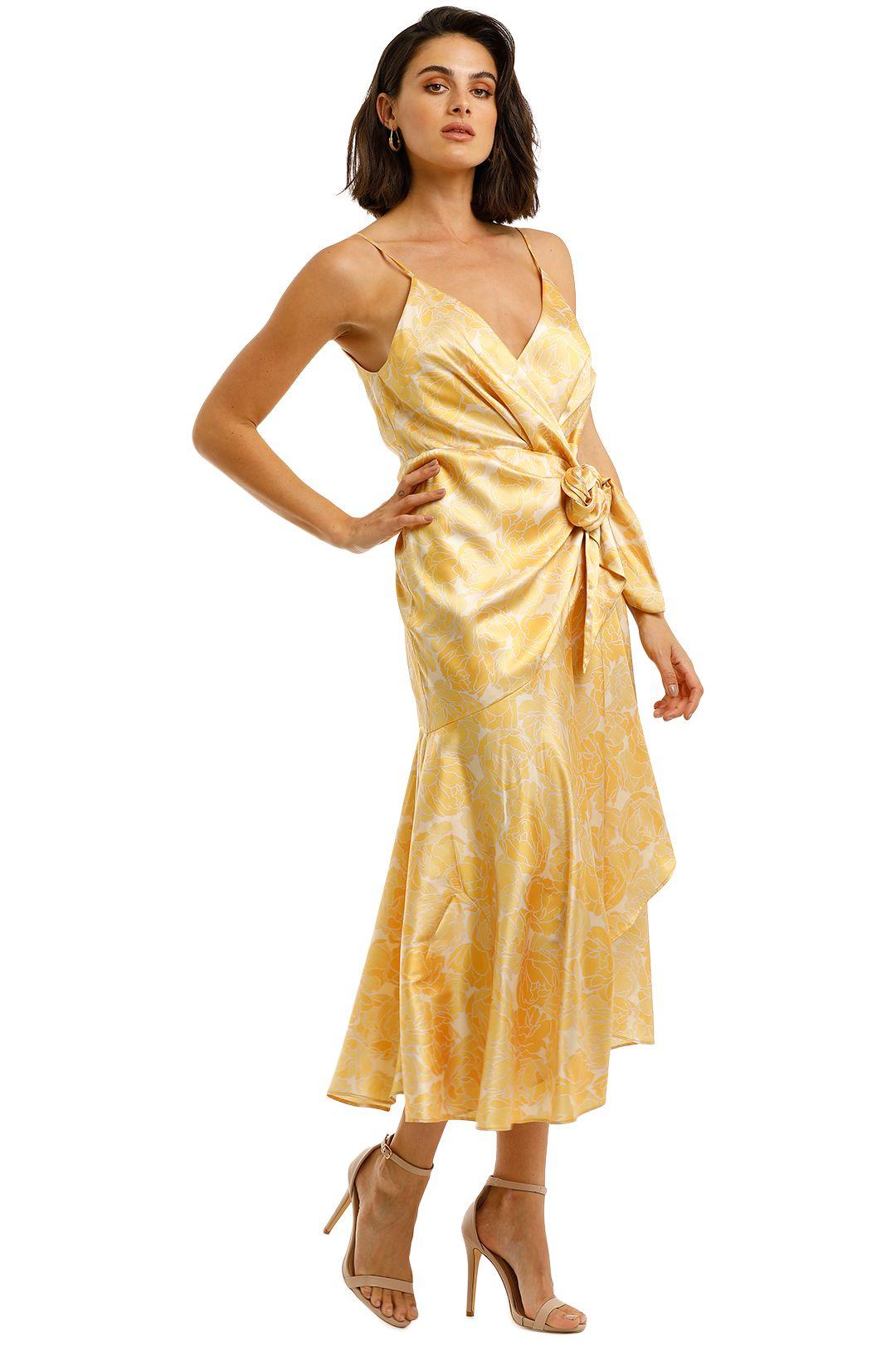 Acler-Dana-Wrap-Dress-Lemon-Side