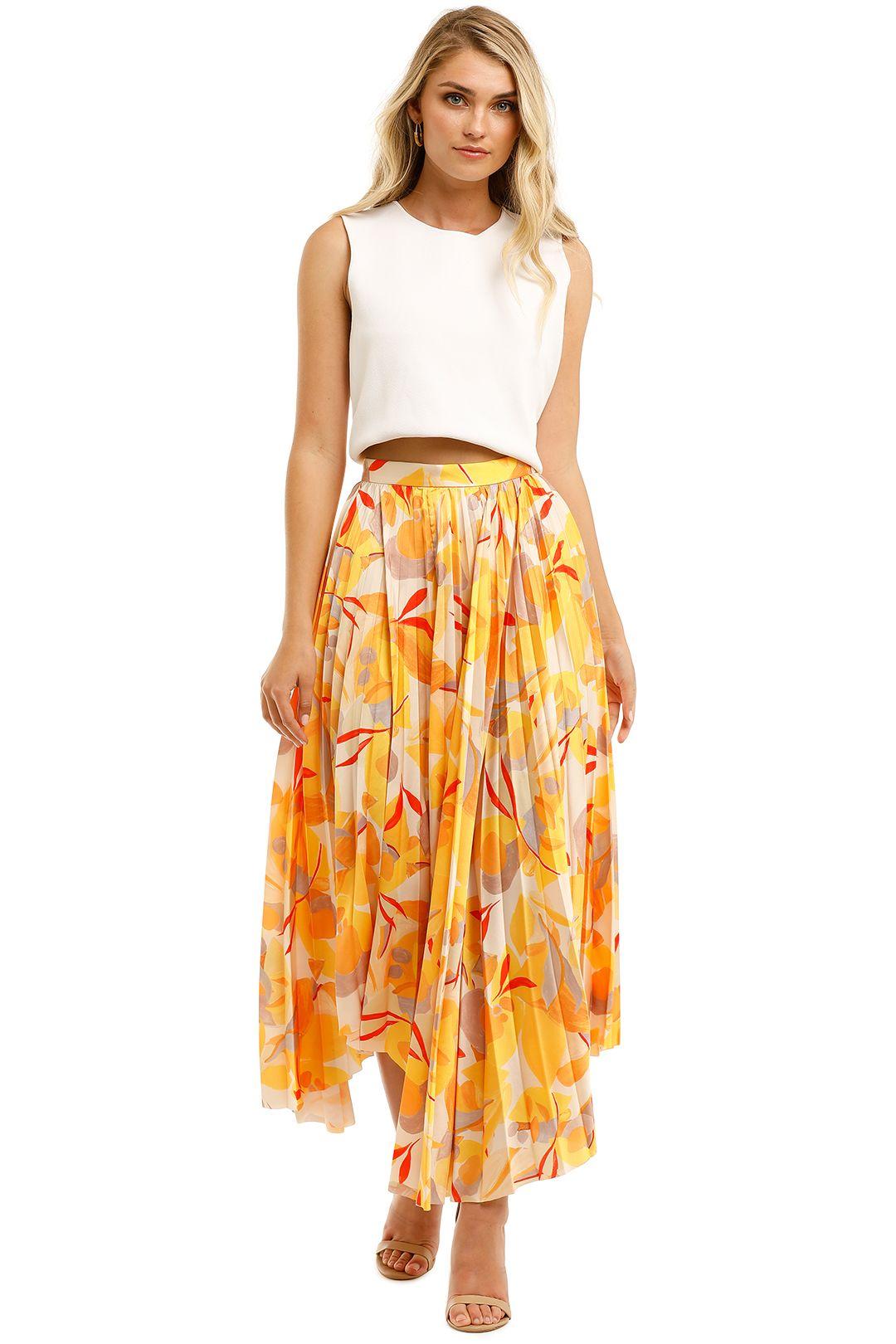 Acler-Hooper-Skirt-Golden-Front