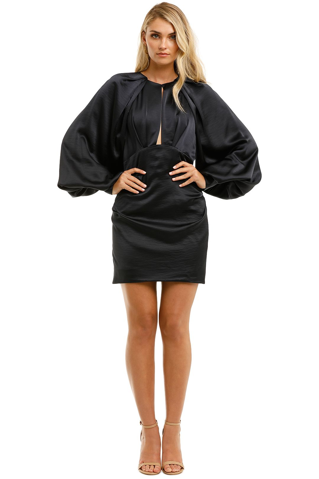 Acler-Paringa-Dress-Midnight-Front