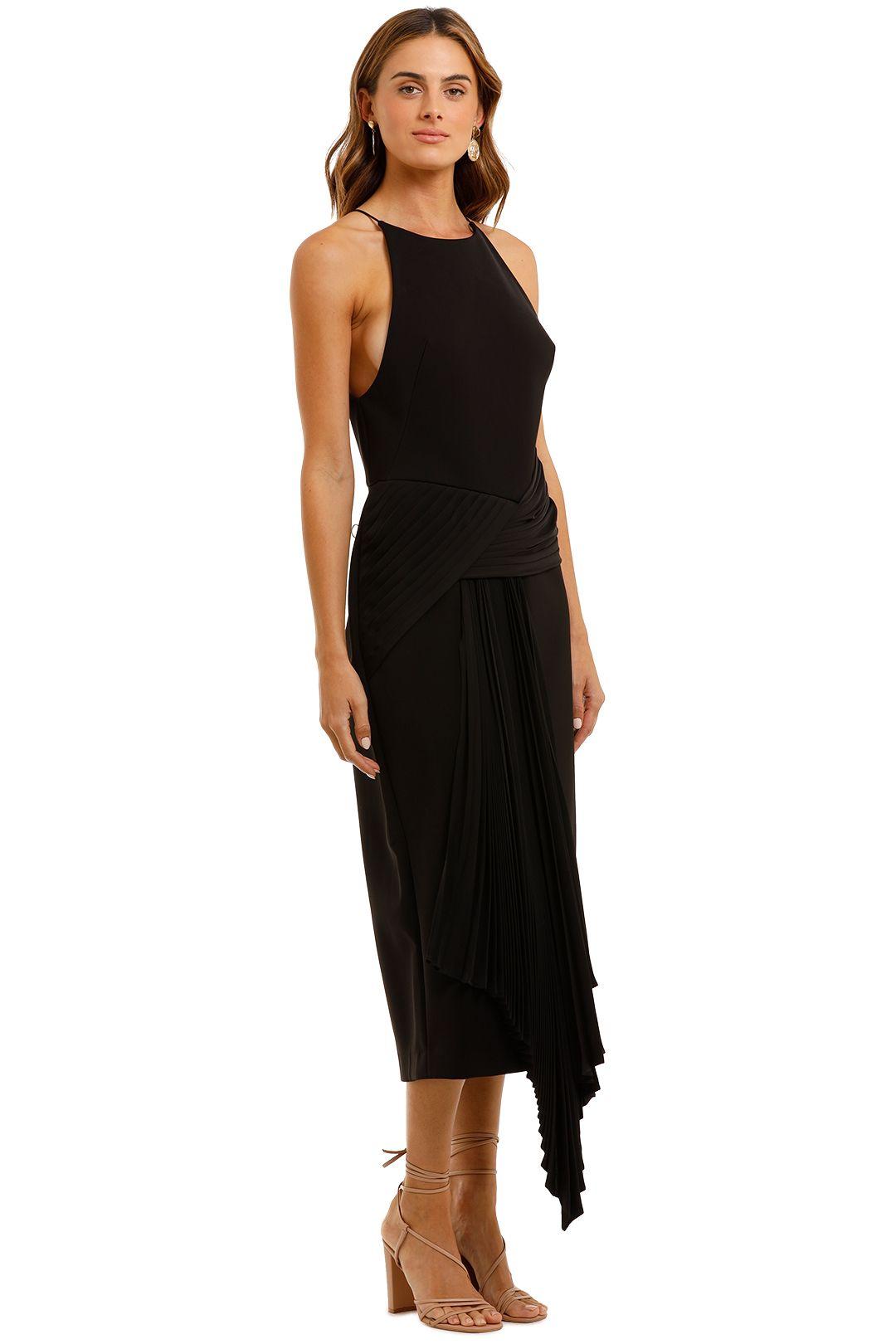 Acler Bercy Midi Dress Draped