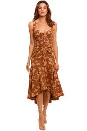 Acler Beverley Dress print