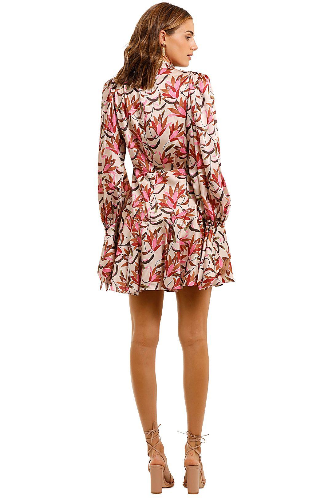 Acler Coleman Mini Dress Draped
