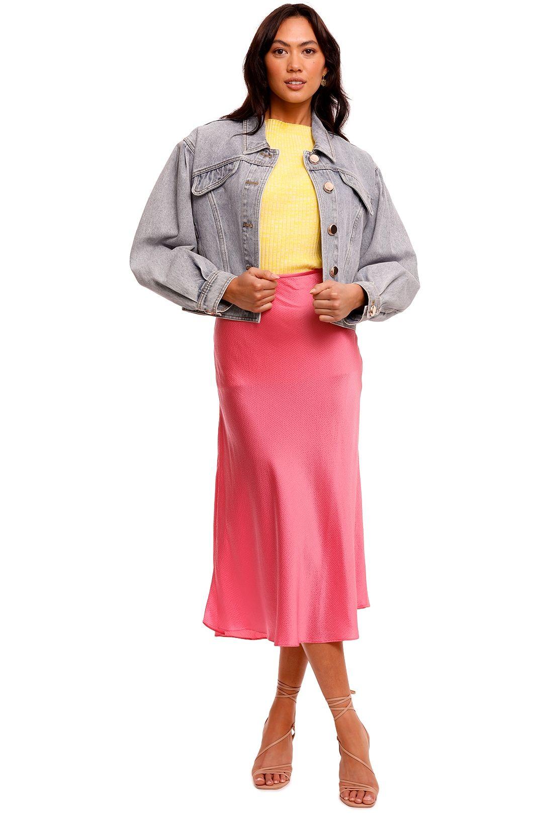 Acler Florence Denim Jacket blue