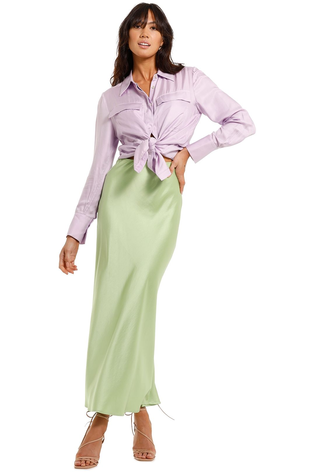 Acler Goldram Shirt Lilac
