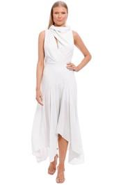 Acler Kilmaine Dress white