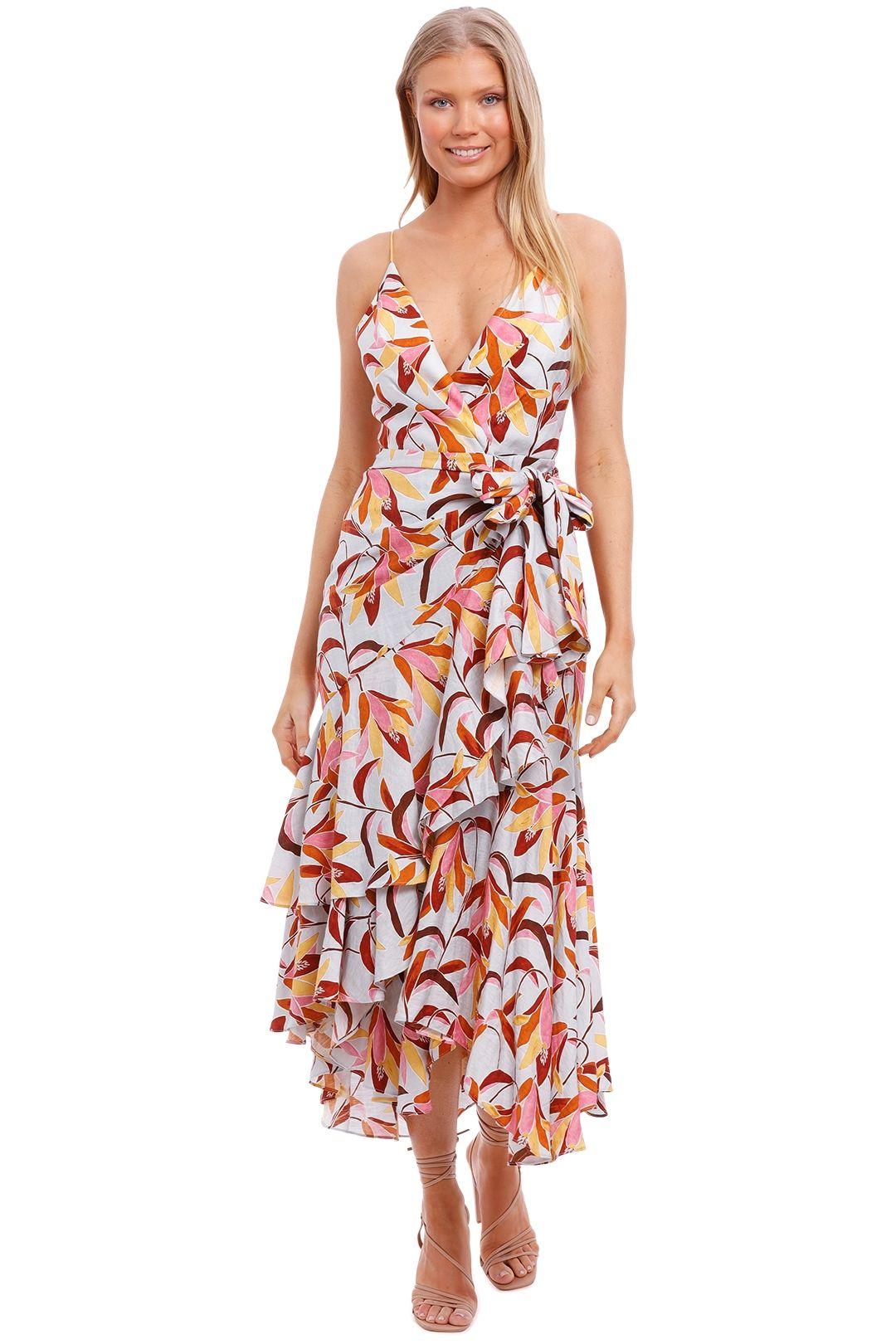 Acler Marlay Dress floral print