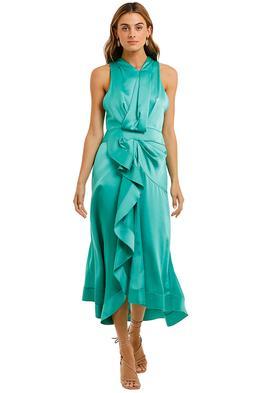 Acler Millbank Dress Green