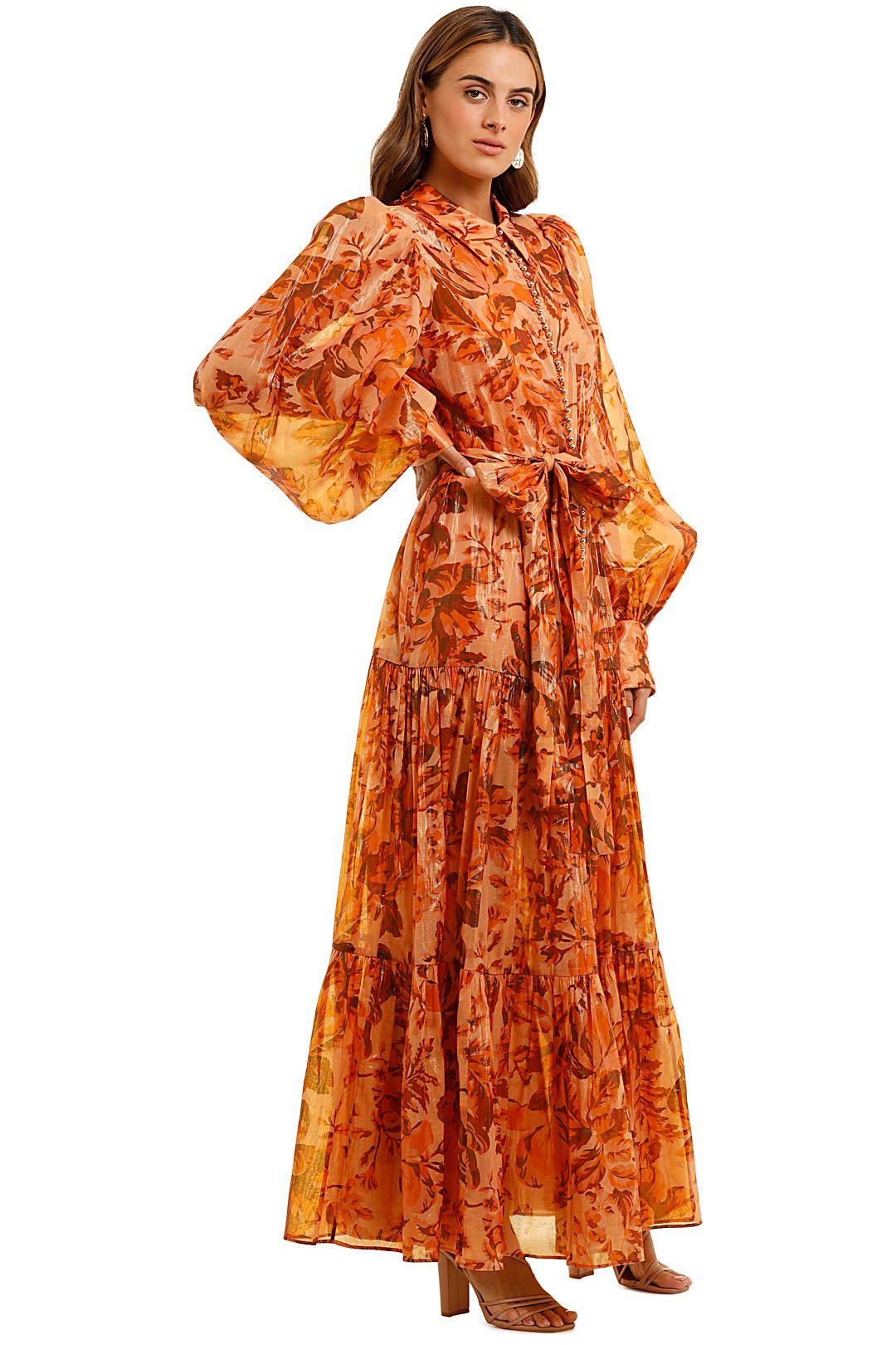 Acler Naples Dress Maxi Length