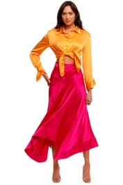 Acler Palmera Skirt pink