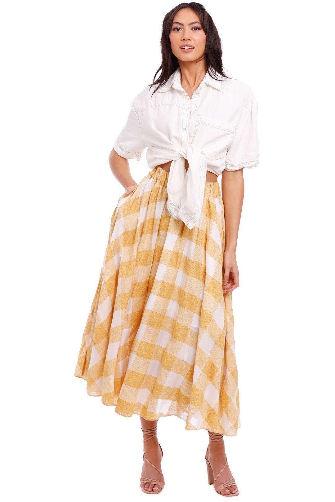 Acler Sutherland Skirt midi