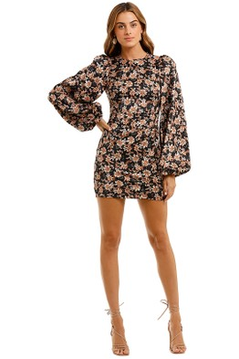 Acler - Waterman Puff Sleeve Mini Dress