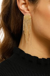 Adorne-Diamante-Strand-Earrings-Yellow-and-Gold-Product