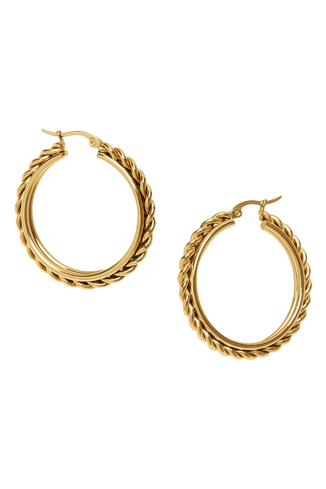 Afine-Ziba-Earrings-Gold-Product