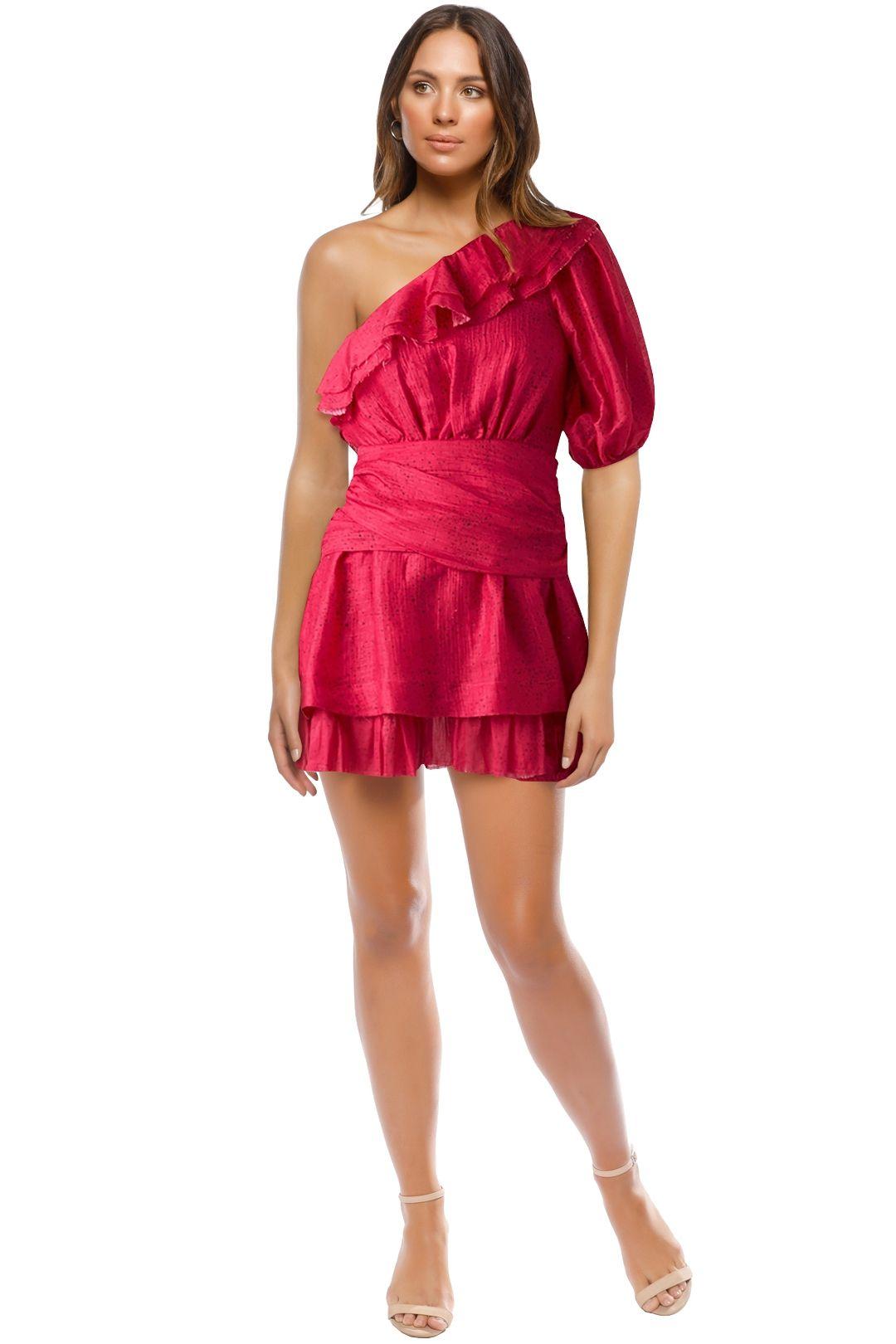 AJE - Elvire Dress - Pink - Front