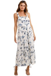 AJE Charlotte Tiered Maxi Dress