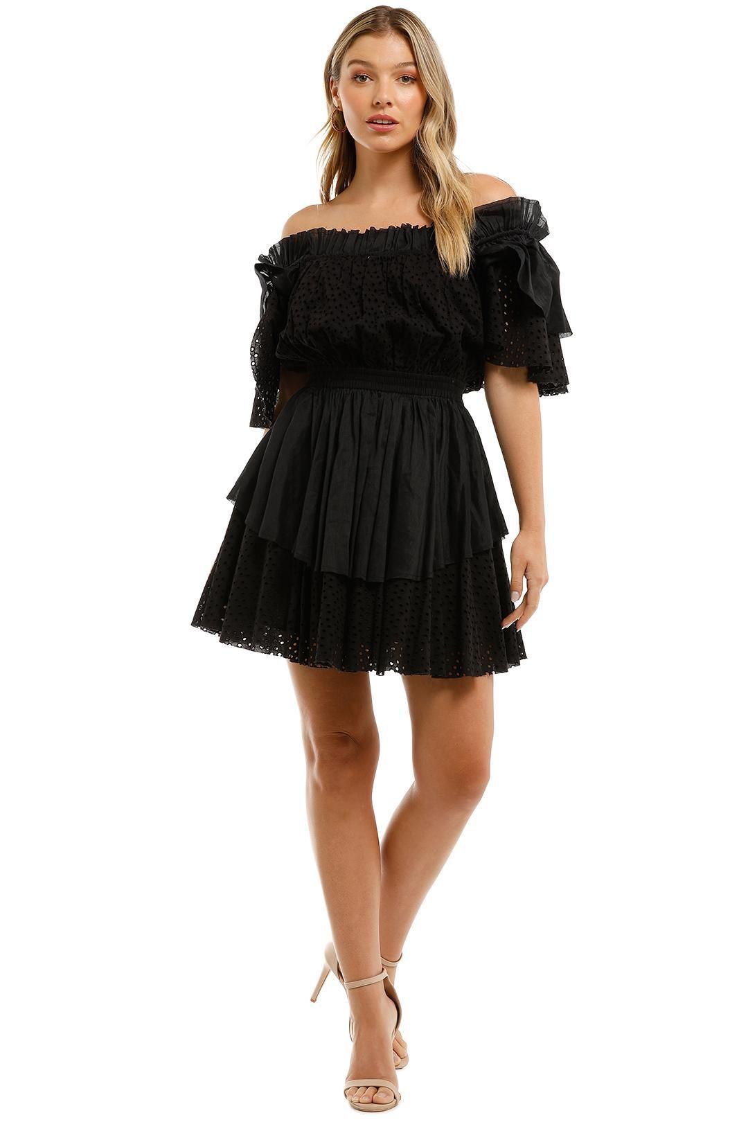 Aje Meadow Broderie Dress