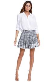 AJE Memento Mini Skirt ruffle