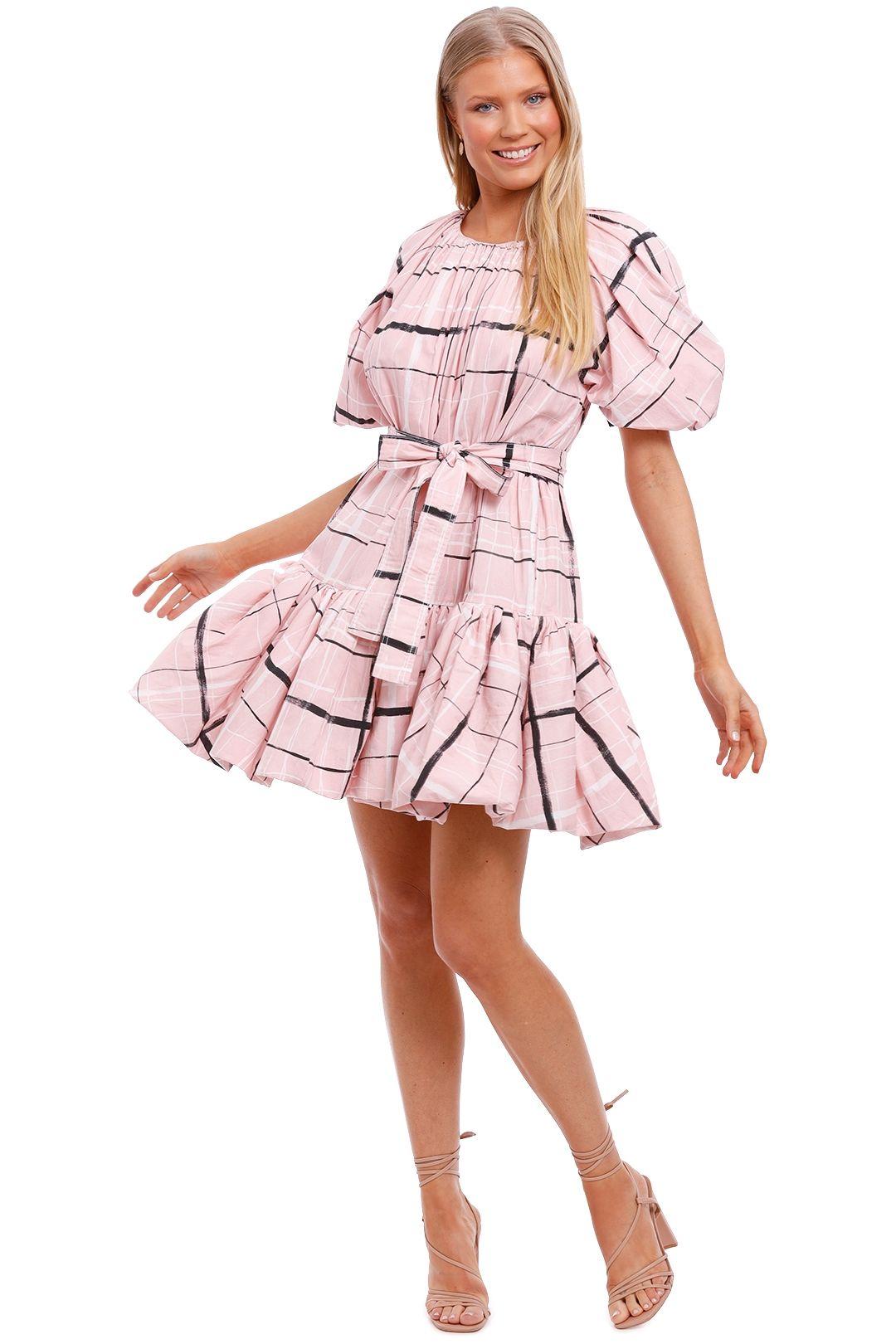 AJE Mottled Dress balloon