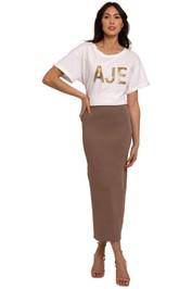 AJE Oceane T-Shirt white