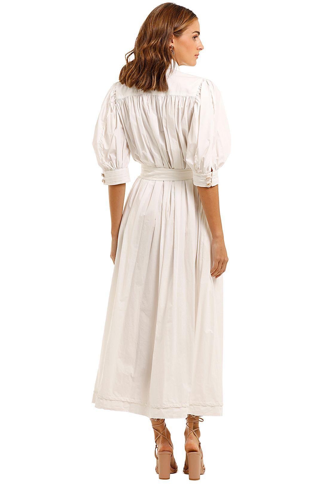 AJE Organic Manifest Dress half balloon sleeve