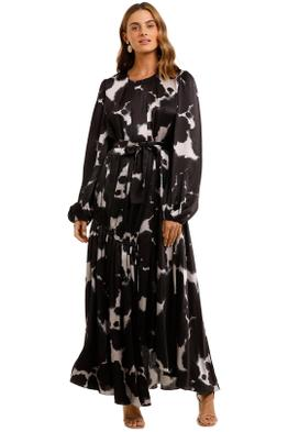 AJE Oxidised Maxi Dress