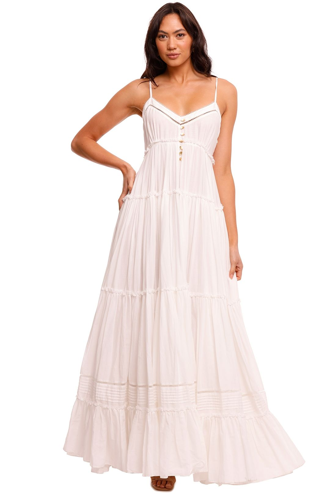 AJE Sketch Maxi Dress