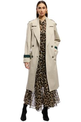 AKIN by Ginger & Smart - Breeze Trench - Taupe - Front