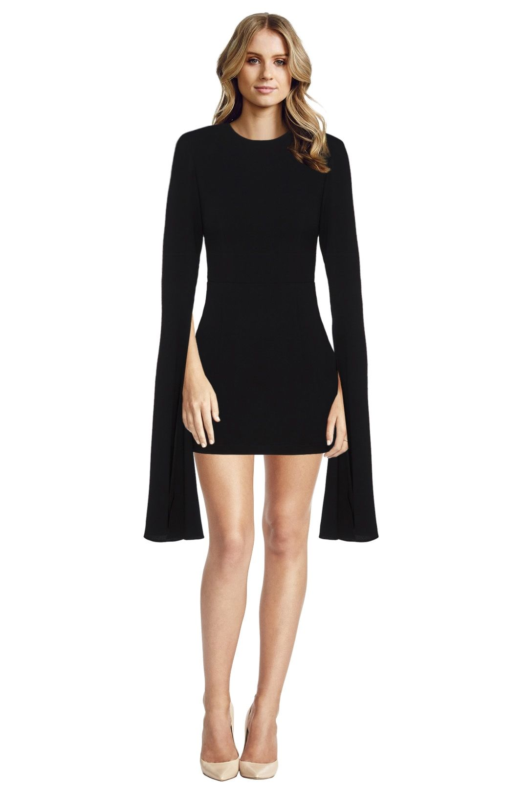 Alex Perry - Jade Dress - Black - Front