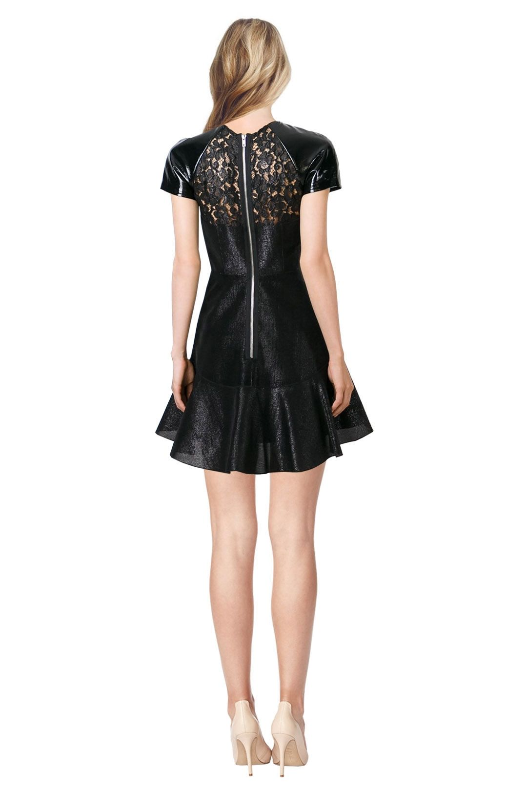 Alex Perry - Pascale Dress - Black - Back