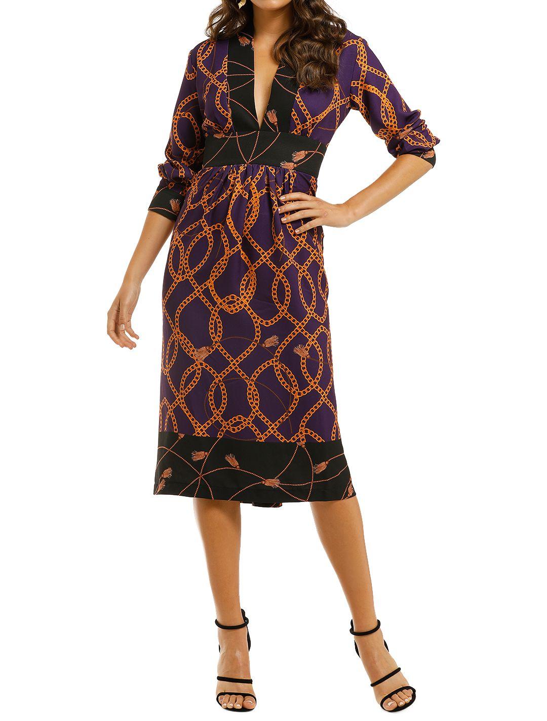 Alexia-Admor-Brielle-V-Neck-LS-Dress-Front